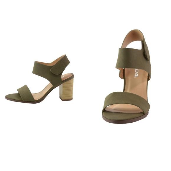 "d556cb735b4 ""Simplicity is Class"" Block Ankle Strap Heel"